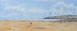 PORTSTEWART STRAND by Claire Loane at Ross's Auctions