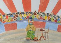 CIRCUS CLOWN by John Marshall at Ross's Auctions