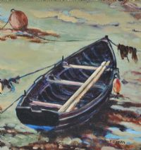 WORKING BOAT by Frances Donnan at Ross's Auctions