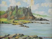 DUNLUCE CASTLE by Casey McKeown at Ross's Auctions