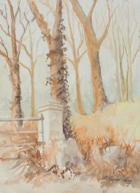 AUTUMN WOODS by P. Armstrong at Ross's Auctions
