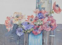 FLOWERS by Wendy McNaught at Ross's Auctions
