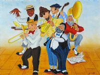 ALEXANDER'S RAGTIME BAND by George Smyth at Ross's Auctions