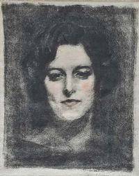 PORTRAIT OF A LADY by Sean O'Sullivan RHA at Ross's Auctions
