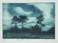 THREE TREES by Sue Leopard at Ross's Auctions