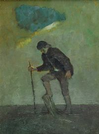 TRAVELLER ON A MARSH by Cherith McKinstry RUA at Ross's Auctions