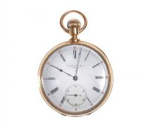 IMPORTANT TIFFANY 18 CT GOLD POCKET WATCH by Pocket & Fob Watches at Ross's Auctions
