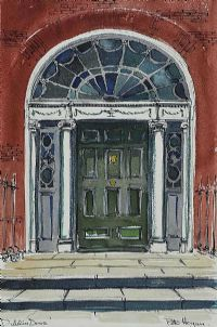 DUBLIN DOOR by Peter Hogan at Ross's Auctions