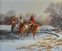 THE WINTER HUNT by John French at Ross's Auctions