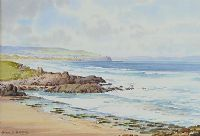 THE LITTLE STRAND, PORTSTEWART by Alymer E. Armstrong UWS at Ross's Auctions