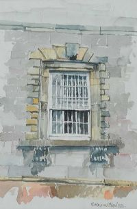 WINDOW AT FLORENCE COURT by Barbara Allen RUA at Ross's Auctions
