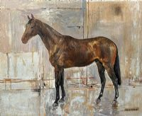 HYPER by Basil Blackshaw HRHA HRUA at Ross's Auctions