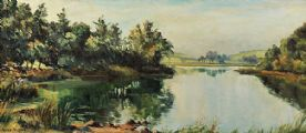 THE RIVER QUOILE by Allan Ardies at Ross's Auctions