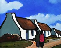 OUR HOMESTEAD by Eileen Gallagher at Ross's Auctions