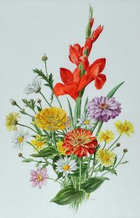 FLOWER BOUQUET by Anne Marie Trechslin at Ross's Auctions