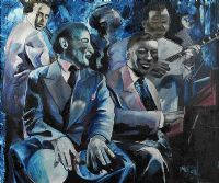 JAZZ BAND by P.A. Gore at Ross's Auctions