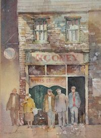 THE CORNER STORE by James McConnell at Ross's Auctions