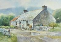 TOM'S OLD HOUSE by James McConnell at Ross's Auctions