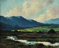 MAAM VALLEY, CONNEMARA by Douglas Alexander RHA at Ross's Auctions