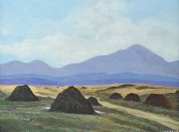 THE BOG ROAD, MAYO by Jack Caprani at Ross's Auctions