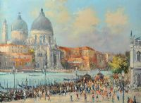 THE GRAND CANAL, VENICE by Colin Gibson at Ross's Auctions