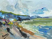 THE BRITTANY COAST by Sisson at Ross's Auctions