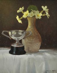 FLOWERS & TROPHY by Padraig Lynch at Ross's Auctions