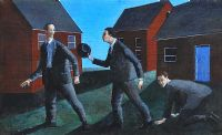 THREE MEN by Stephen Darragh at Ross's Auctions