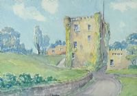 ROSS CASTLE, KILLARNEY by Louis Affolter at Ross's Auctions