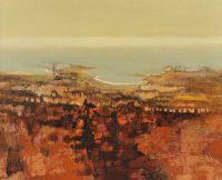 LANDSCAPE IN BROWNS by Arthur Armstrong RHA RUA at Ross's Auctions