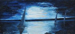 NIGHT SAILING by Marion Collett at Ross's Auctions