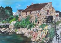 ANNALONG CORNMILL by Fionnuala Rooney at Ross's Auctions