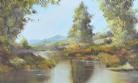 DOWN STREAM, CONNEMARA by Clive Hughes at Ross's Auctions