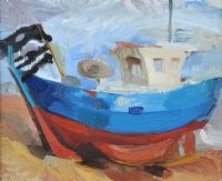 BOAT by Mal Levittoux at Ross's Auctions