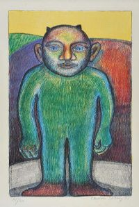 GREEN MAN by Henman Schelling at Ross's Auctions