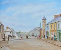 MAIN STREET, BUSHMILLS by T. McCoole at Ross's Auctions