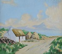 LOUGH SWILLY, DONEGAL by S. Knocker at Ross's Auctions