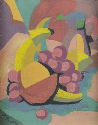 CUBIST STILL LIFE by Father Jack P. Hanlon RHA at Ross's Auctions