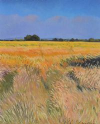 THE CORN FIELD by Raymond Balfe at Ross's Auctions