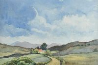ROAD IN THE GLENS by George D. Livingston at Ross's Auctions
