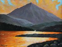 ERRIGAL, DONEGAL by Sean Loughrey at Ross's Auctions