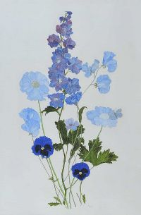 BLUE ON BLUE by Anne Anderson at Ross's Auctions