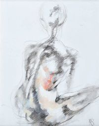 SEATED NUDE by Rosaleen Sanderson at Ross's Auctions