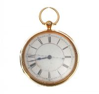 18 CARAT GOLD POCKET WATCH MONOGRAMMED J.M.A by Pocket & Fob Watches at Ross's Auctions