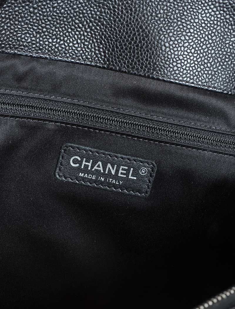 97aef07aec4b ... CHANEL GRAND SHOPPING TOTE BLACK CAVIAR at Ross s Online Art Auctions  ...