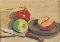 STILL LIFE, APPLES by John Francis Skelton at Ross's Auctions