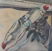 BOTTLES & GLOVES by Diarmuid Delargy RUA at Ross's Auctions