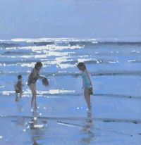 REFLECTIONS OF THE DAY INCH BEACH by John Morris at Ross's Auctions