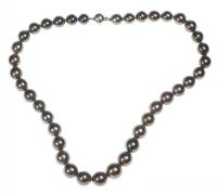 59752e9f24a8 MIKIMOTO BLACK TAHITIAN PEARL NECKLACE at Ross s Auctions