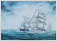 BELFAST TALL SHIPS, JULY 1991 by Patrick J. Lynch at Ross's Auctions